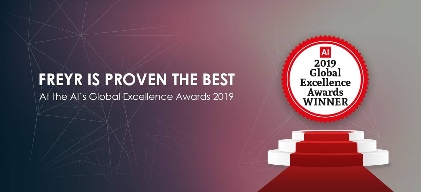 Freyr Is Proven the Best At the AI's Global Excellence Awards 2019