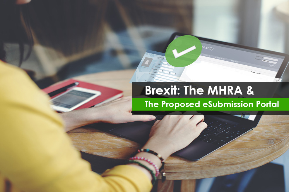 MHRA and The Proposed eSubmission Portal
