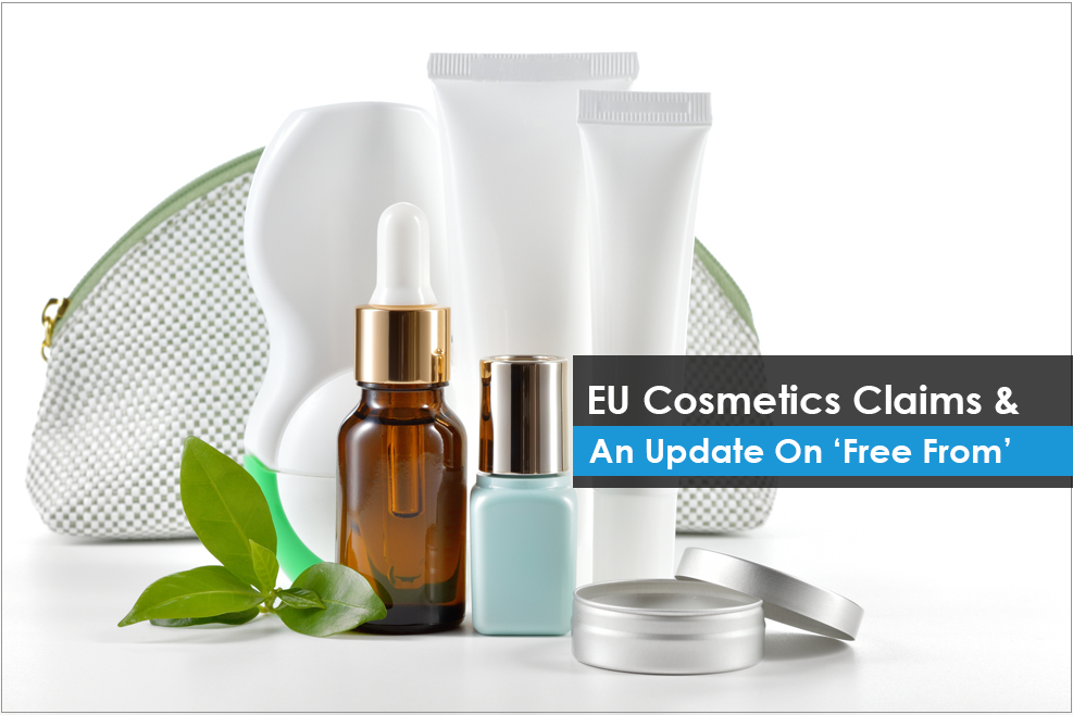 EU Cosmetics Claims & An Update On 'Free From'
