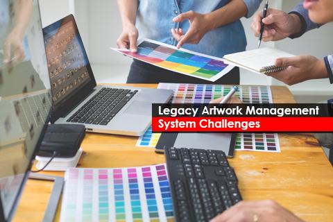 Legacy Artwork Management System Challenges