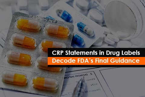 FDA's Final Guidance on Child-Resistant Packaging(CRP) statement on drug labels
