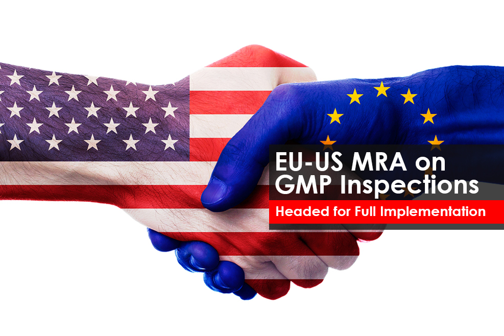 EU & US Mutual Recognition Agreements(MRA) on GMP inspections