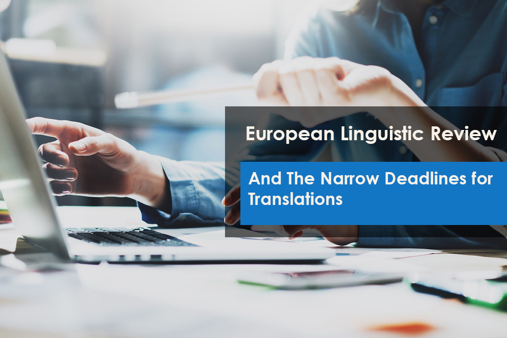 European Linguistic Review Process & Language Translations