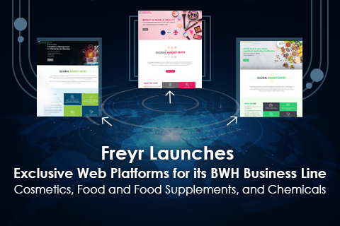 Freyr Launches Exclusive Web Platforms for its BWH Business Line - Cosmetics, Food and Food Supplements, and Chemicals