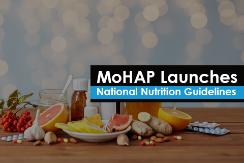 MoHAP Launches National Nutrition Guidelines