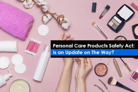 Personal Care Products Safety Act - USA