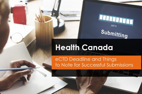 Health Canada eCTD Submissions Deadline
