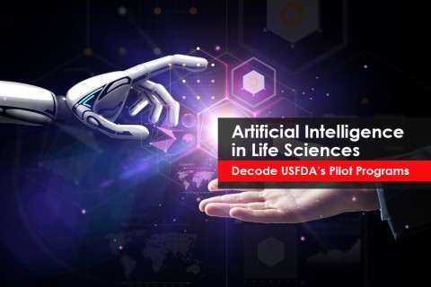 Artificial Intelligence (AI) as a next big step for life science innovation, USFDA