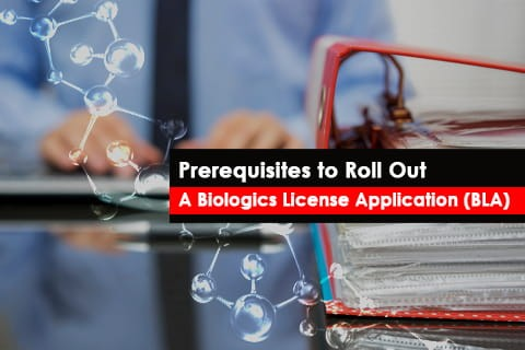 FDA Prerequisites to file a Biological License Application (BLA)
