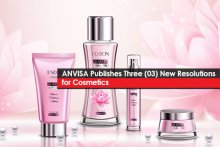 ANVISA Publishes Three (03) New Resolutions for Cosmetics