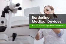 European Commission's New Update on Borderline Medical Device Classification