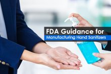 FDA Guidance for Manufacturing Hand Sanitizers
