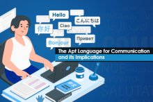 The Apt Language for Communication and its Implications