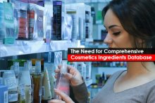 The Need for Comprehensive Cosmetics Ingredients Database