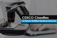 CDSCO Classifies 12 Newly Notified Medical Devices
