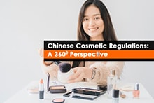 China Cosmetic Regulations from NMPA