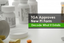 TGA Approves New product information PI Form for generic & biosimilar products